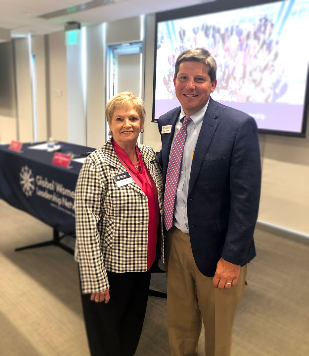 LGFCU Board Dir. Ruth Barnes and CCUL President/CEO Dan Schline