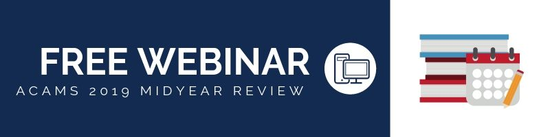 "ACAMS to host ""Midyear Review"" webinar on 2019 compliance"