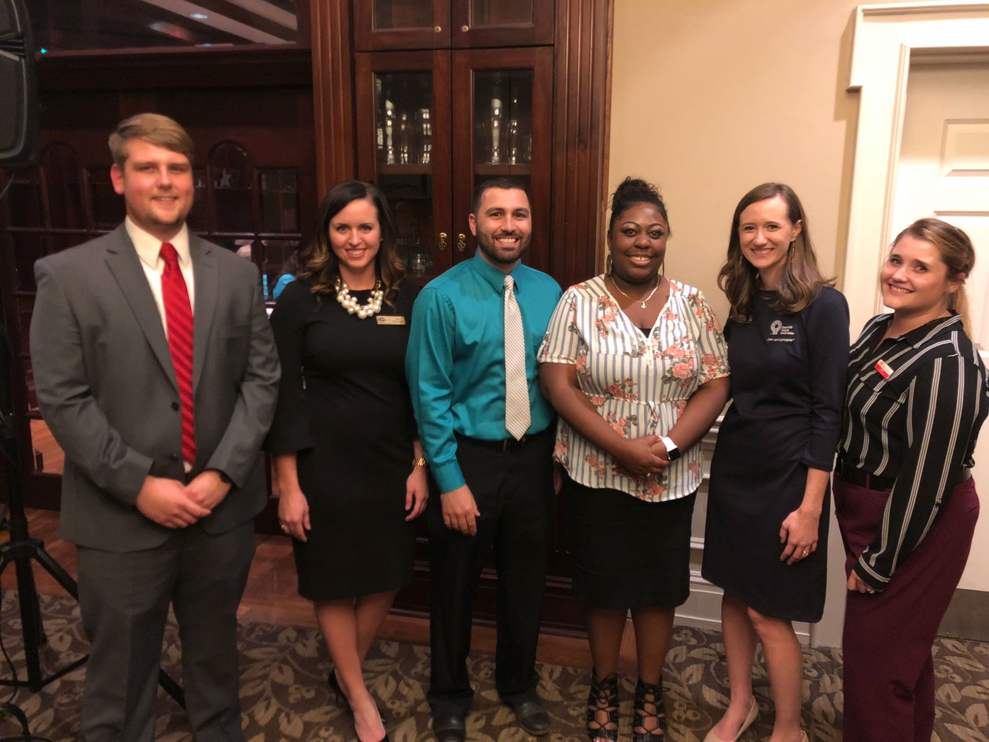 Six candidates competed in the 2018-19 Upstate Chapter Protégé Competition