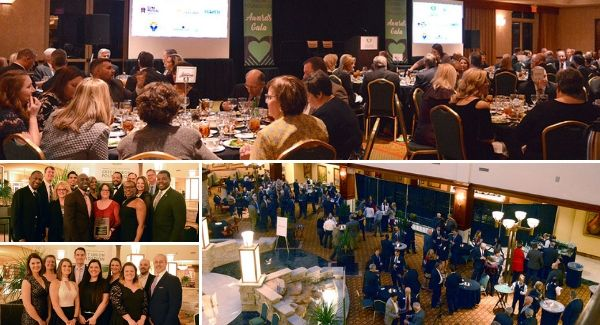 Collage of CCUF 2018 Awards Gala