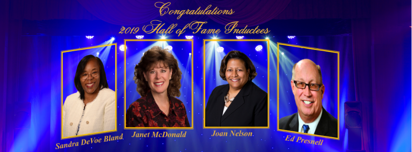 AACUC 2019 Hall of Fame inductees