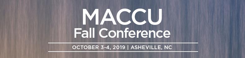 MACCU event header image