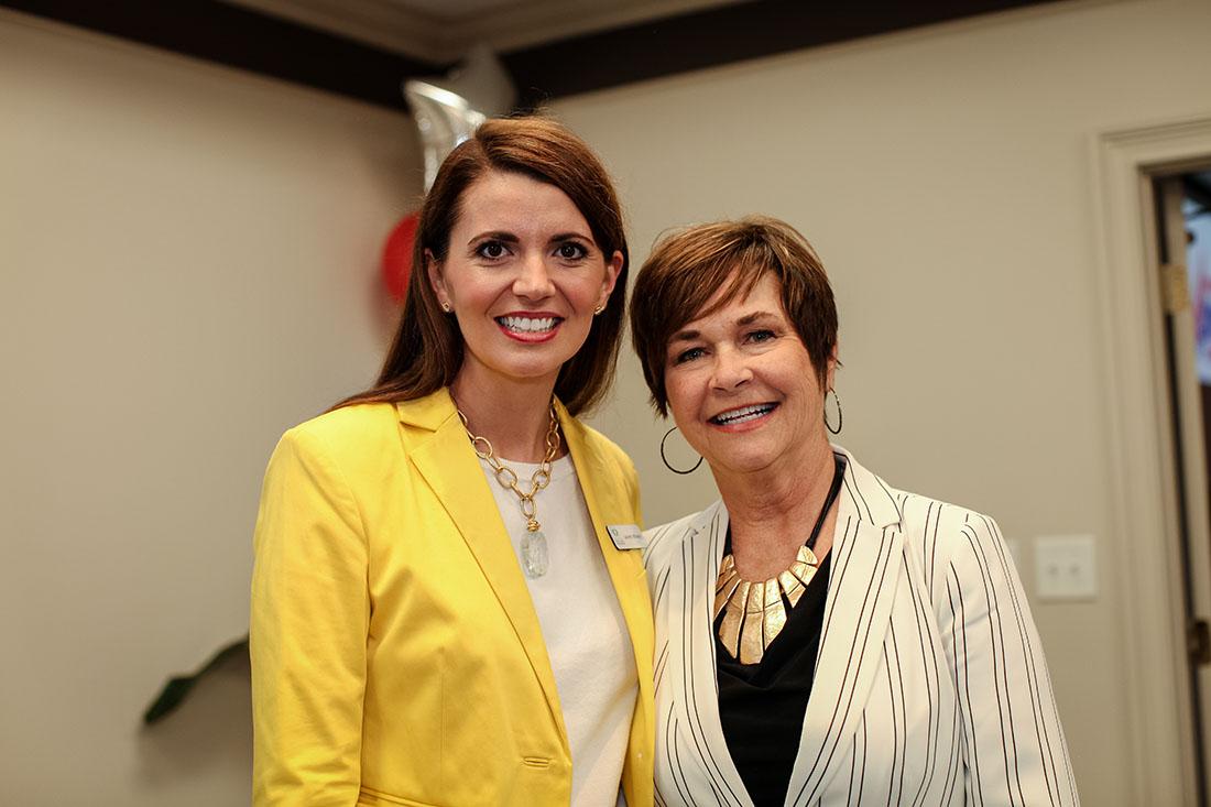 Judy Tharp and Lauren Whaley img