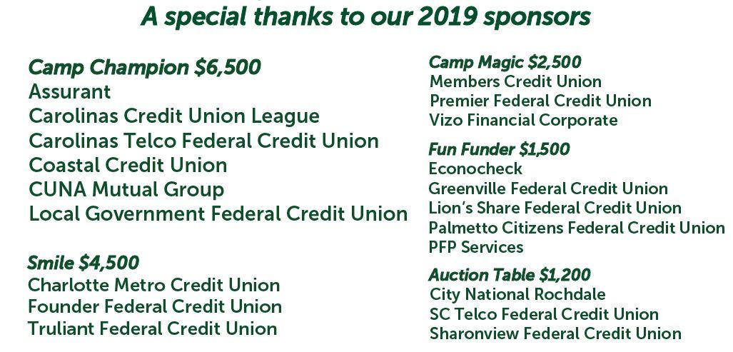 list of 2019 Carolinas Cup sponsors