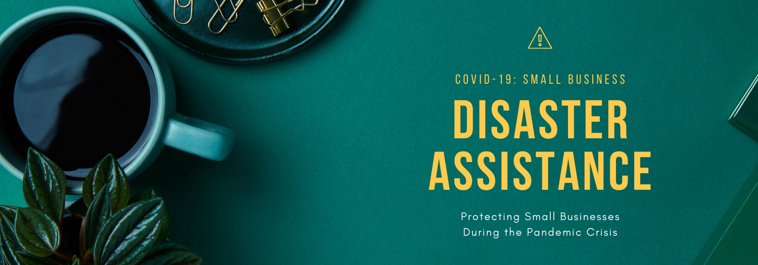 header image for article on small business relief during covid-19 pandemic