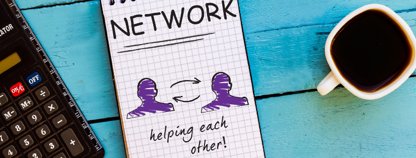 Helping each other concept header