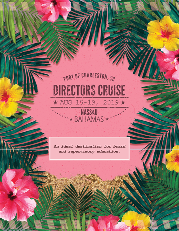 directors cruise brochure cover