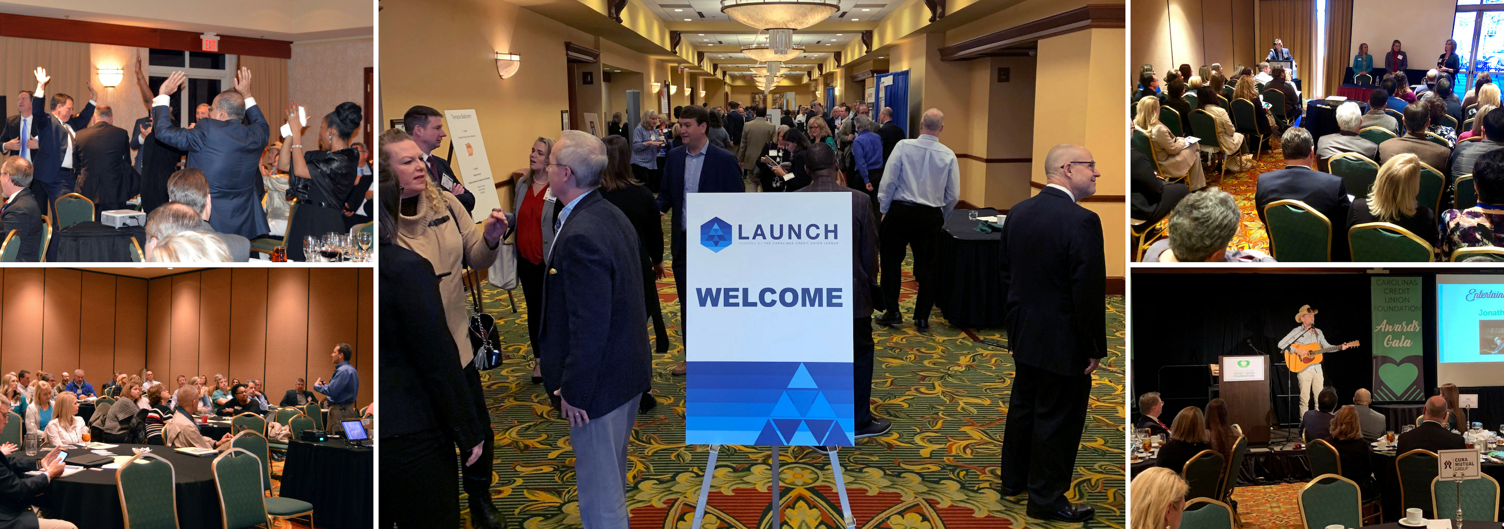 collage of 2019 LAUNCH Conference