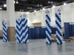 Sponsorship: Exhibit Hall Lounge Balloon Columns [Exclusive]