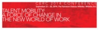CERC 2014 Conference - Talent Mobility: A Force of Change in the New World of Work