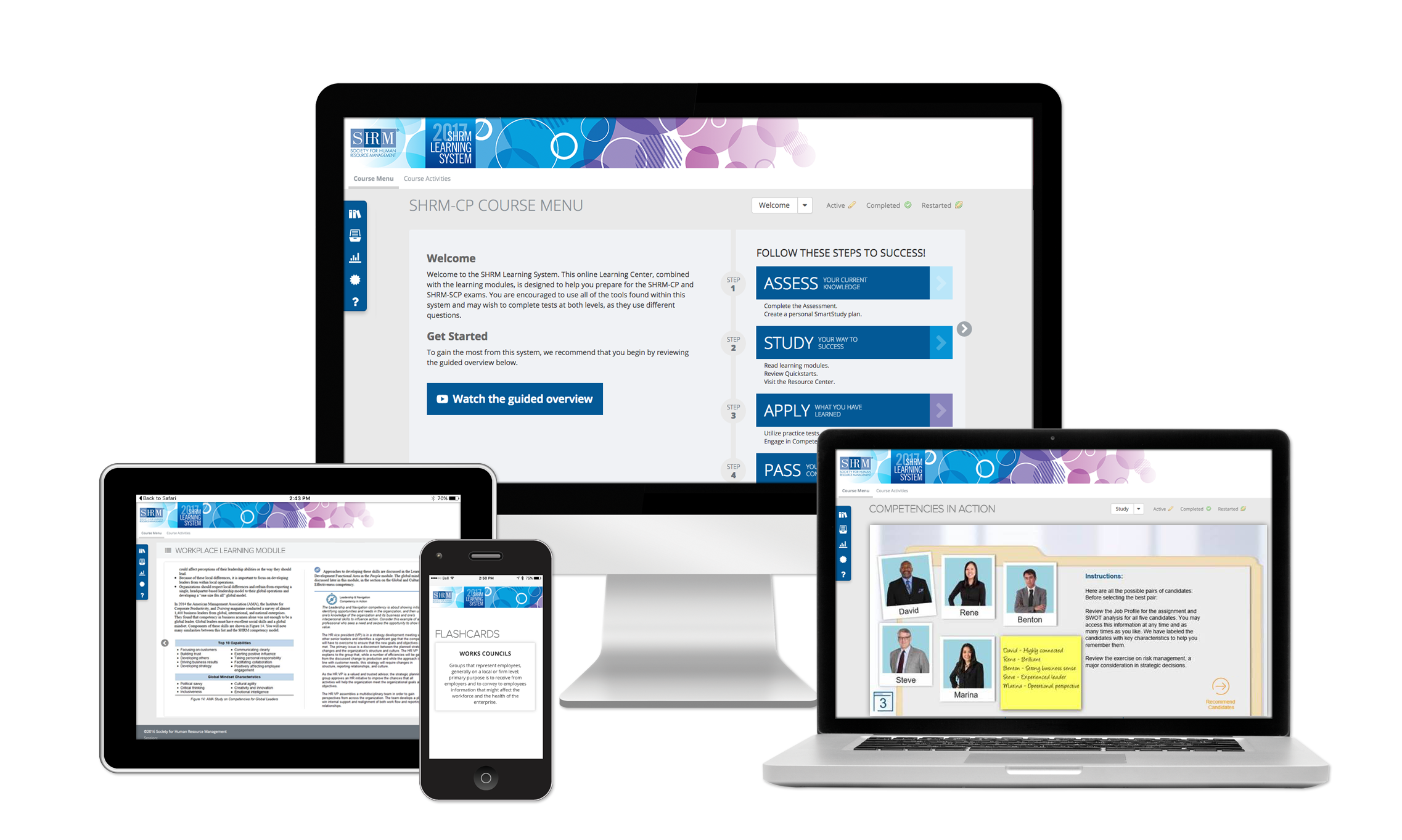 Shrm certification chicago shrm the shrm learning system delivers the most effective and comprehensive shrm cp and shrm scp preparation shrm provides several learning options to suit any xflitez Gallery