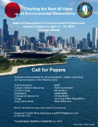 Call for Papers - National Assocation of Environmental Professionals Conference