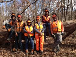 Conservation Corps at Spears Woods