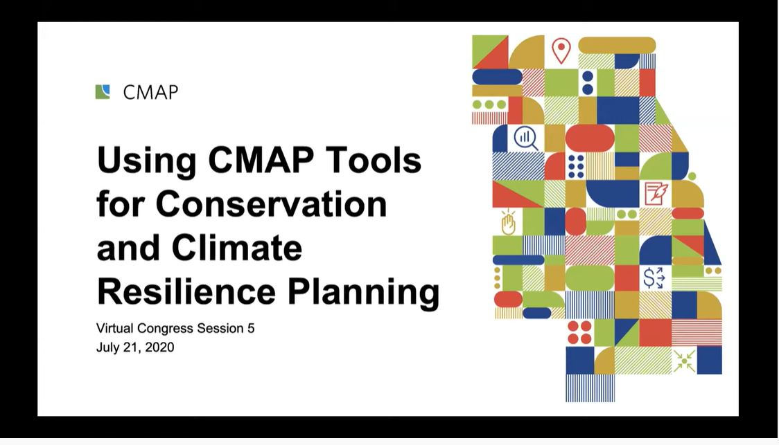 Using CMAP tools for conservation and climate resilience planning powerpoint image