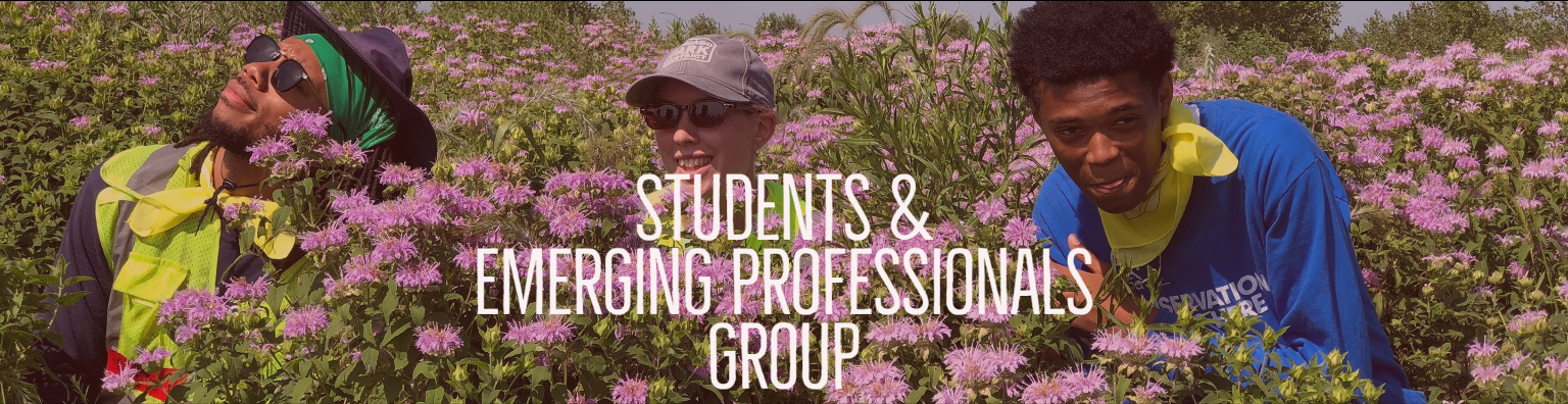 Chicago Wilderness students and emerging professionals group