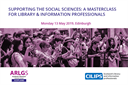 Details and book online at: https://www.cilip.org.uk/events/EventDetails.aspx?id=1214953&group