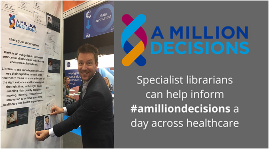 Dr Heaversedge endorsing the #AMillionDecisions campaign