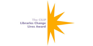 Libraries Change Lives Award logo