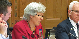 BL Chief Librarian Caroline Brazier at Libraries APPG