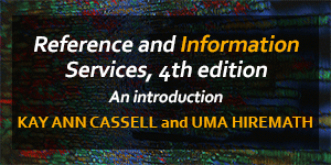 Reference and Information Services, An introduction