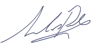 Nick Poole signature