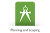 planning and scopiing logo