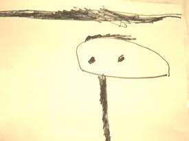 Art by Finn, age 4