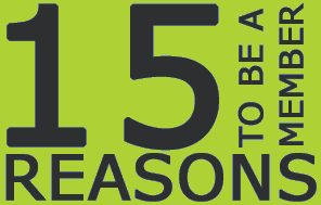 15 Reasons to be a member