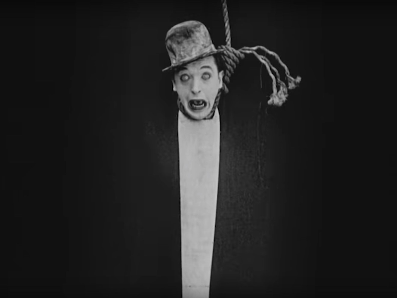 A still from rediscovered footage of Stan Laurel's performance in the 1924  film Detained. Source: FriesFilmArchief.