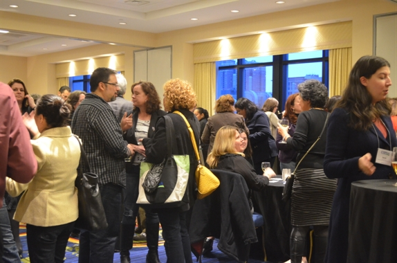 crowd networking at COPAA conference