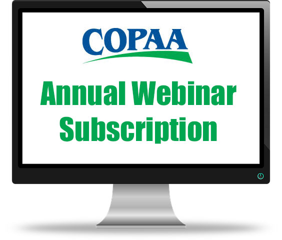 Annual Webinar Subscription