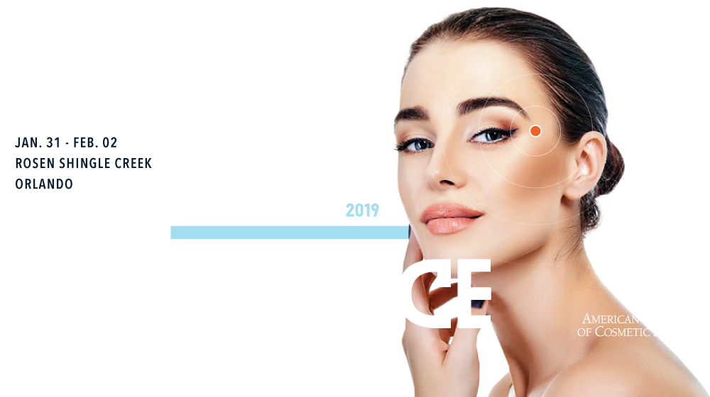 2019 Annual Scientific Meeting of the American Academy of Cosmetic Surgery