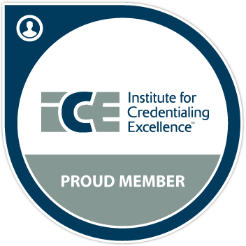 Member, Institute for Credentialing Excellence