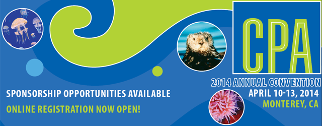 CPA 2014 Annual Convention - April 10-13, 2014 in Monterey, CA.  Sponsorship Opportunities Available - Click to find out more!