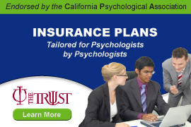 Endorsed by the CPA, Insurance Plans Tailored for Psychologists by Psychologists - The Trust - Learn More