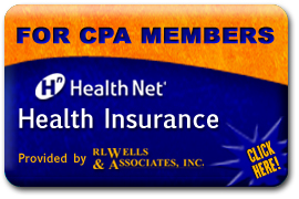 FOR CPA MEMBERS - HealthNet Health Insurance - Provided by RL Wells & Associates, Inc - Click Here