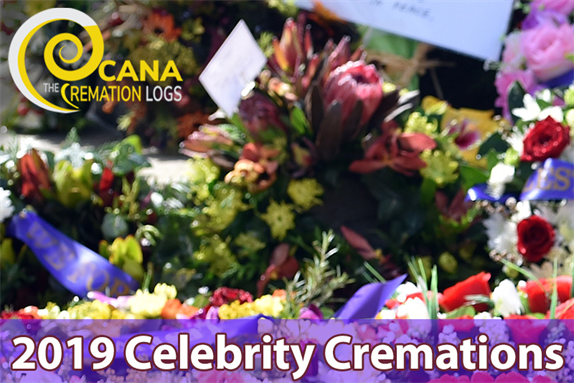 2019 Celebrity Cremations