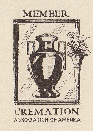 Logo of the Cremation Association of America, 1942