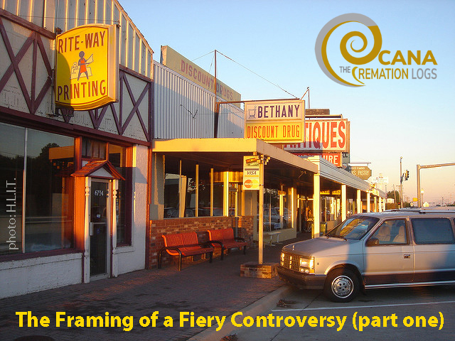 The Framing of a Fiery Controversy: Bethany, Oklahoma