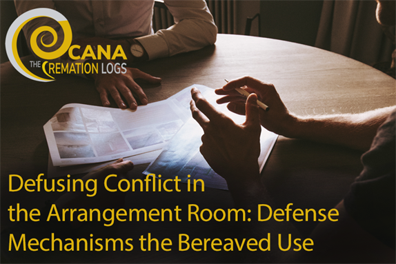 Defusing Conflict in the Arrangement Room: Defense Mechanisms the Bereaved Use