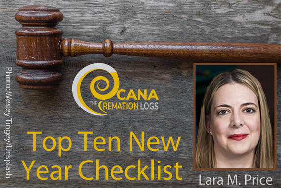 Top Ten Legal Checklist