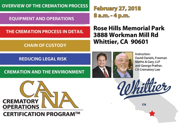 COCP - Whittier, CA - February 27, 2018
