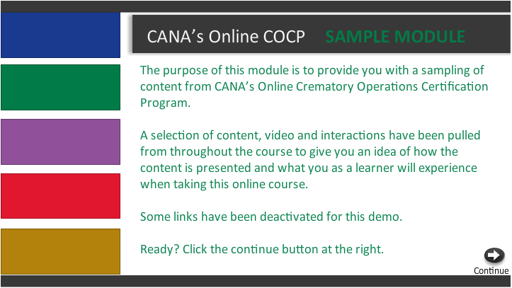 Demo the Online COCP