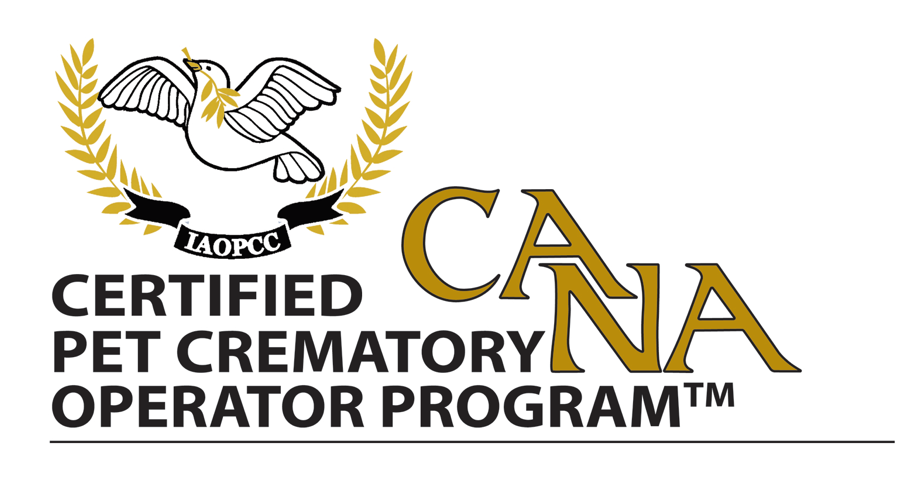 CANA & IAOPCC Certified Pet Crematory Operator Program Logo