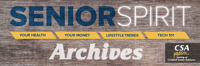 Senior Spirit Newsletter Archive Banner