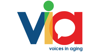 Voices in Aging - VIA logo