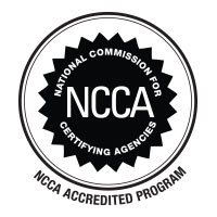 National Commission for Certifying Agencies (NCCA) logo