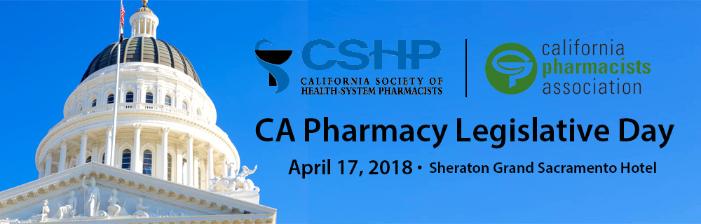 CSHP Pharmacy Legislative Day