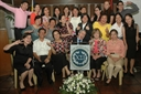 Wacky shot of ASO members with Dr.& Mrs. Gladding