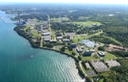 SUNY Oswego Campus from the air.